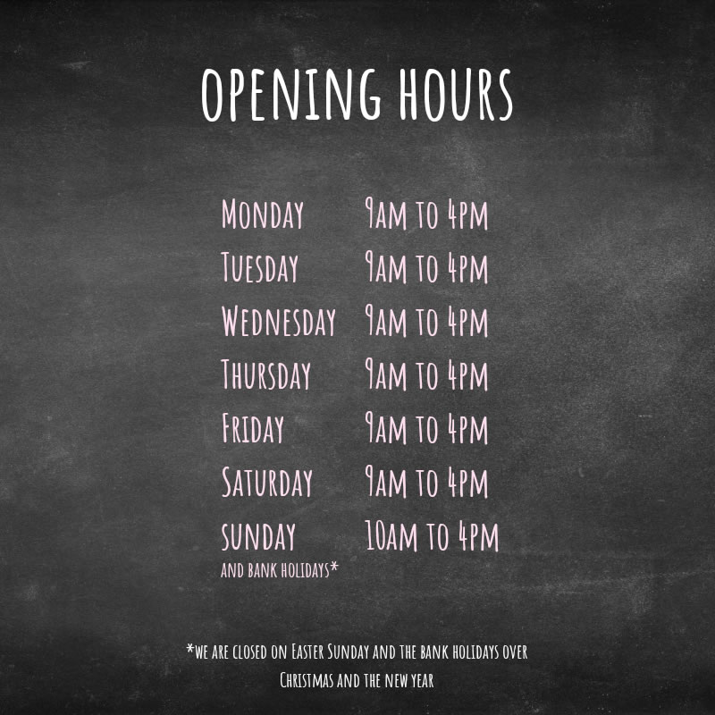 Opening Hours H & M Produce Dartford